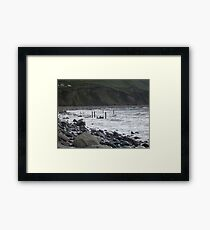 The Sea in Kerry Framed Print