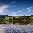 Early Morning Reflections, Bad Bayersoien by Kasia-D