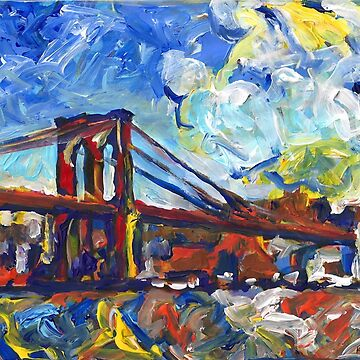 Brooklyn Bridge Picture New York City by RD Riccoboni by RDRiccoboni