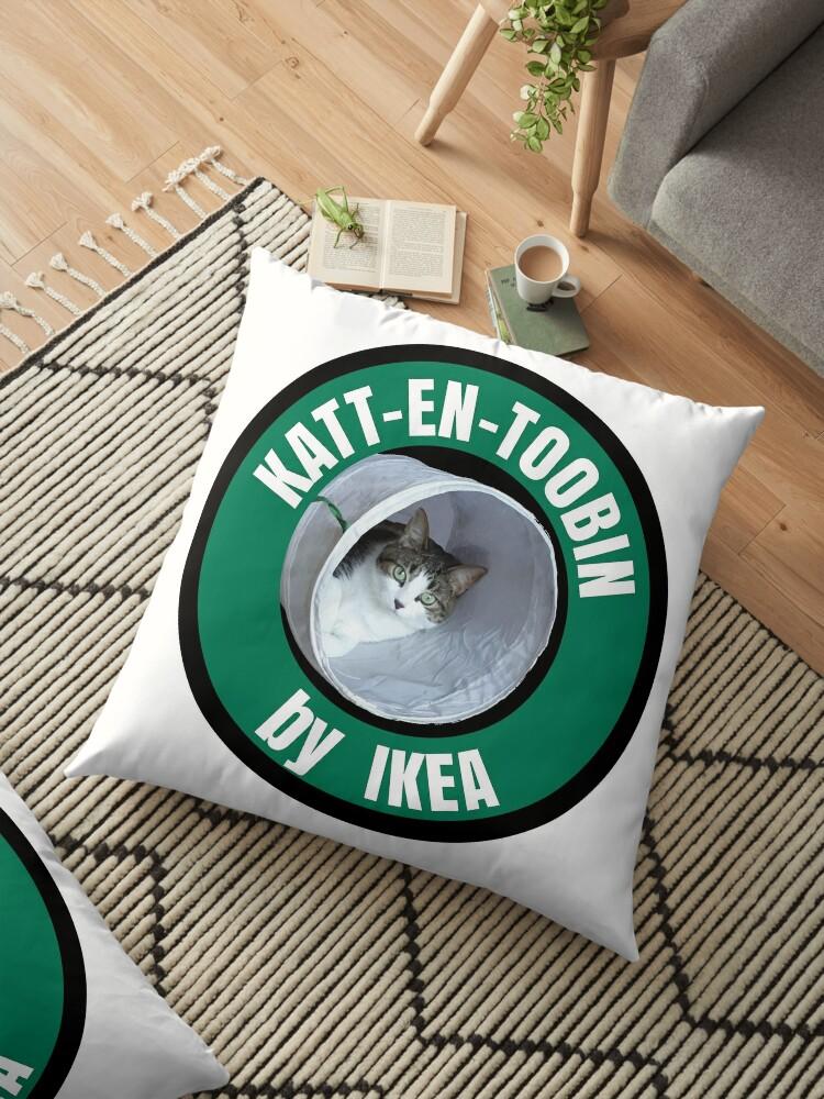 Katt En Toobin By Ikea Floor Pillow By Cartoon