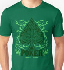 Poker Spades Unisex T-Shirt