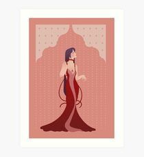 Deco Mars Princess Art Print