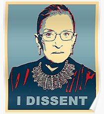 I Dissent  Poster