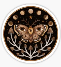 Forest visions Sticker
