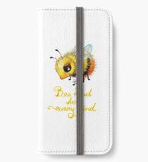 Bee by Maria Tiqwah iPhone Wallet/Case/Skin