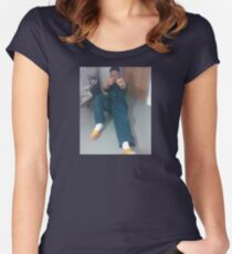 Tay K in Jail Women's Fitted Scoop T-Shirt