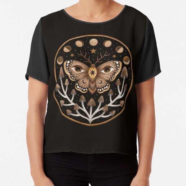 Forest visions Chiffon Top