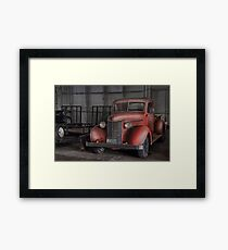 Garage Gem Framed Print