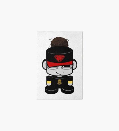 Oyo Yo O'BOT Toy Robot 2.0 Art Board Print