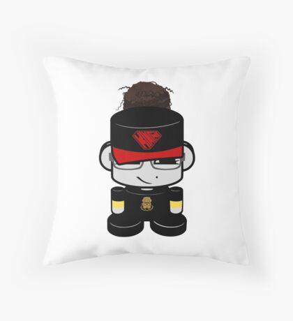 Oyo Yo O'BOT Toy Robot 2.0 Throw Pillow