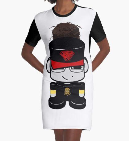 Oyo Yo O'BOT Toy Robot 2.0 Graphic T-Shirt Dress