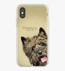 Curious and Cute Cairn Terrier iPhone Case