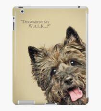 Curious and Cute Cairn Terrier iPad Case/Skin