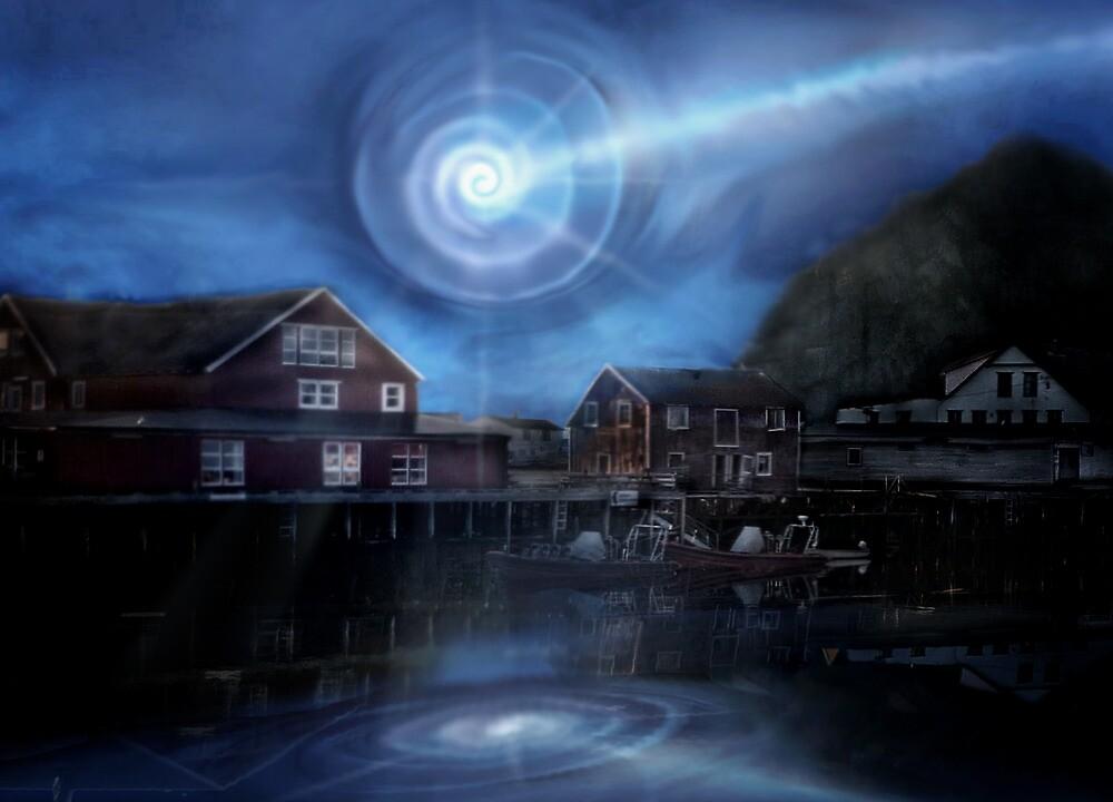 Norway UFO Vortex by Cliff Vestergaard