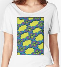 70s pattern Women's Relaxed Fit T-Shirt