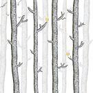 Woodland tree lovers by narais