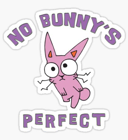 "Easter ""No Bunny's Perfect"" Sticker"