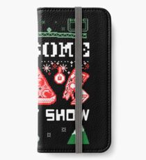 Pizza Christmas Sweater iPhone Wallet/Case/Skin