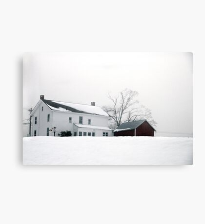 The Length of Afternoon Canvas Print