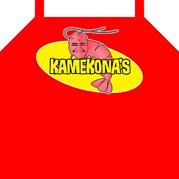 Kamekona's Shrimp Apron by fozzilized