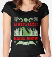 Awesome Kaiju Show Women's Fitted Scoop T-Shirt