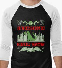 Awesome Kaiju Show Men's Baseball ¾ T-Shirt