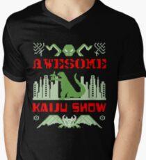 Awesome Kaiju Show Men's V-Neck T-Shirt