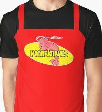 Kamekona's Shrimp Apron Graphic T-Shirt
