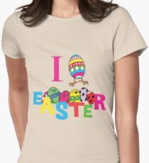 "Easter ""I Love Easter"" Womens Fitted T-Shirt"