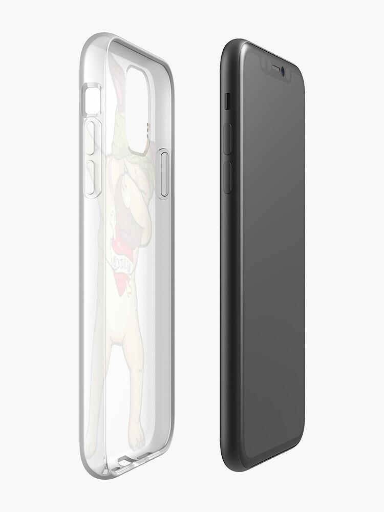 Coque iPhone «Tampon Carlin», par Profashionall