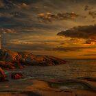 Peggy's Cove by (Tallow) Dave  Van de Laar