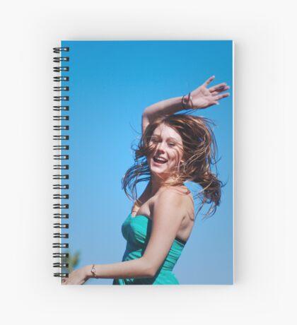 Spin Me 'Round Spiral Notebook
