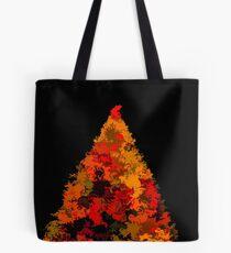 Autumn Christmas Tree Tote Bag