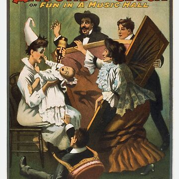 Vintage poster - Around the Clock 1720 by mosfunky