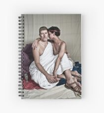 LOA - Hadrian and Antinous Spiral Notebook