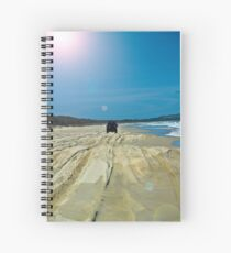 Beach Scene 3 Spiral Notebook