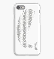 The Whiteness of The Whale iPhone Case/Skin