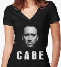 Nicolas Cage Iconique T-shirt col V femme