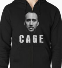 Nicolas Cage Iconic Zipped Hoodie