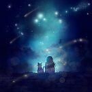 Anime Landschaft Landschaft von LunarAphelion