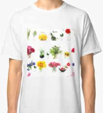 collection of flower bouquets Classic T-Shirt