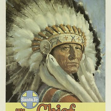 Vintage poster - The Chief Way by mosfunky