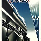 Nord Express Super Train to Berlin by edsimoneit