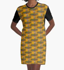 Orbiting Bubbles Graphic T-Shirt Dress