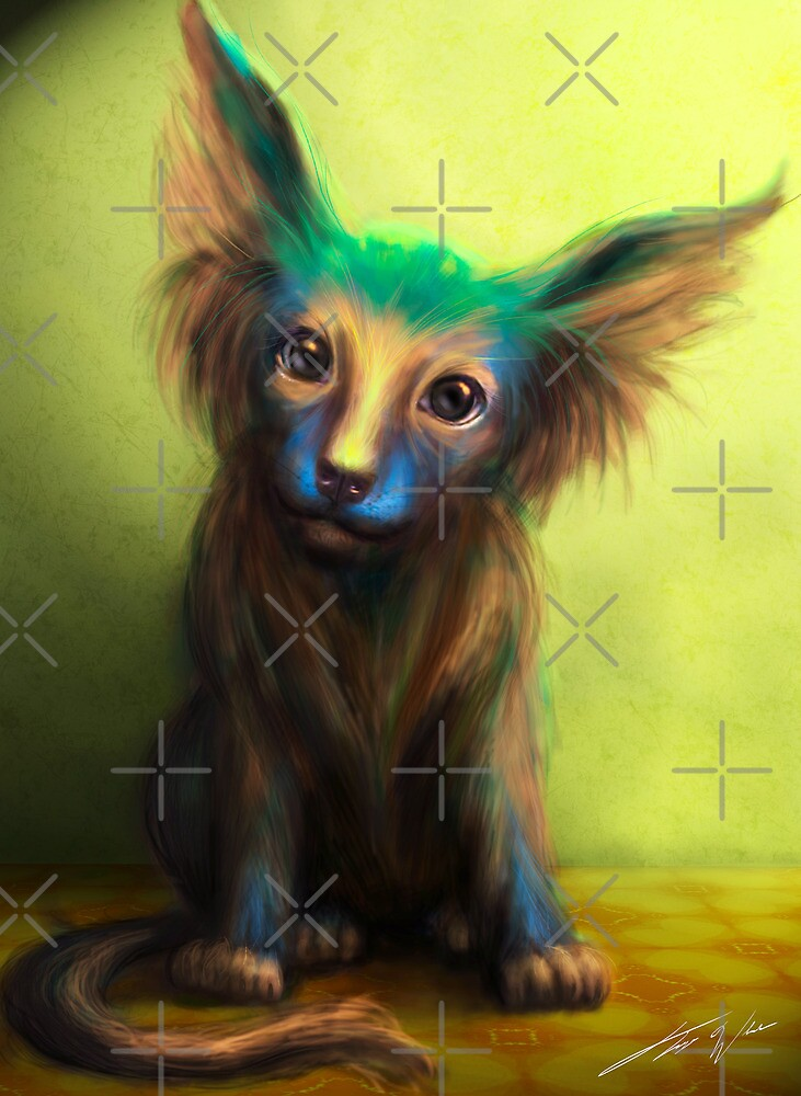 Colorful Dog by Tanya Varga