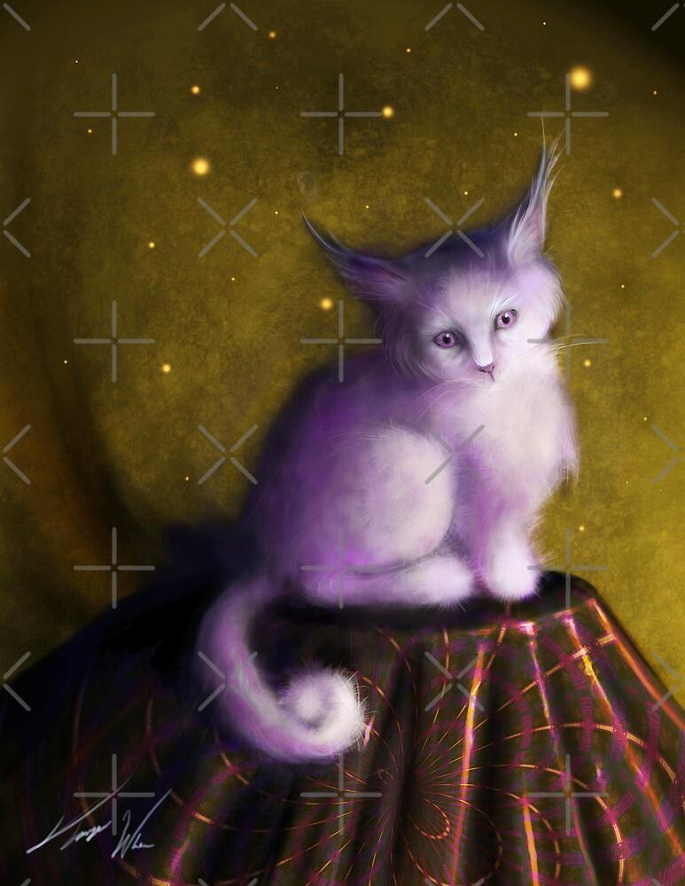 Mystic Kitten by Tanya Wheeler Varga