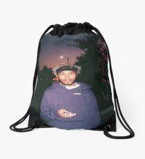 kevin abstract Drawstring Bag