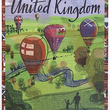 Vintage poster - United Kingdom by mosfunky