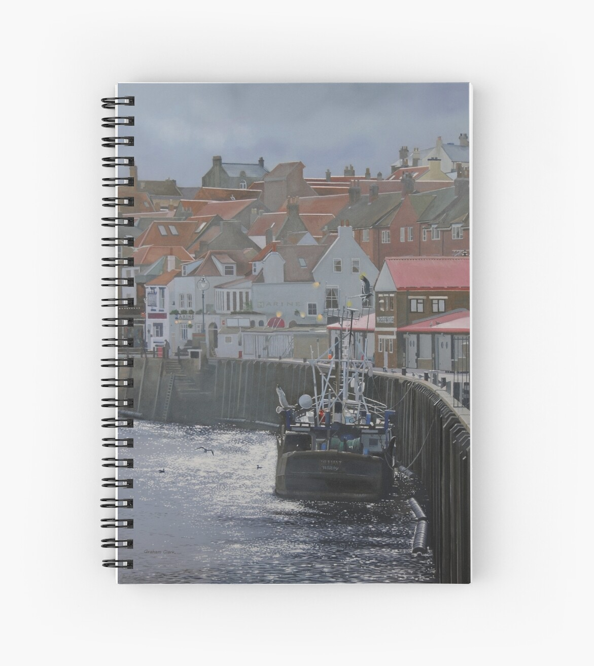 'Defiant' - Whitby by Graham Clark