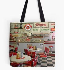 Twisters Soda Fountain Tote Bag